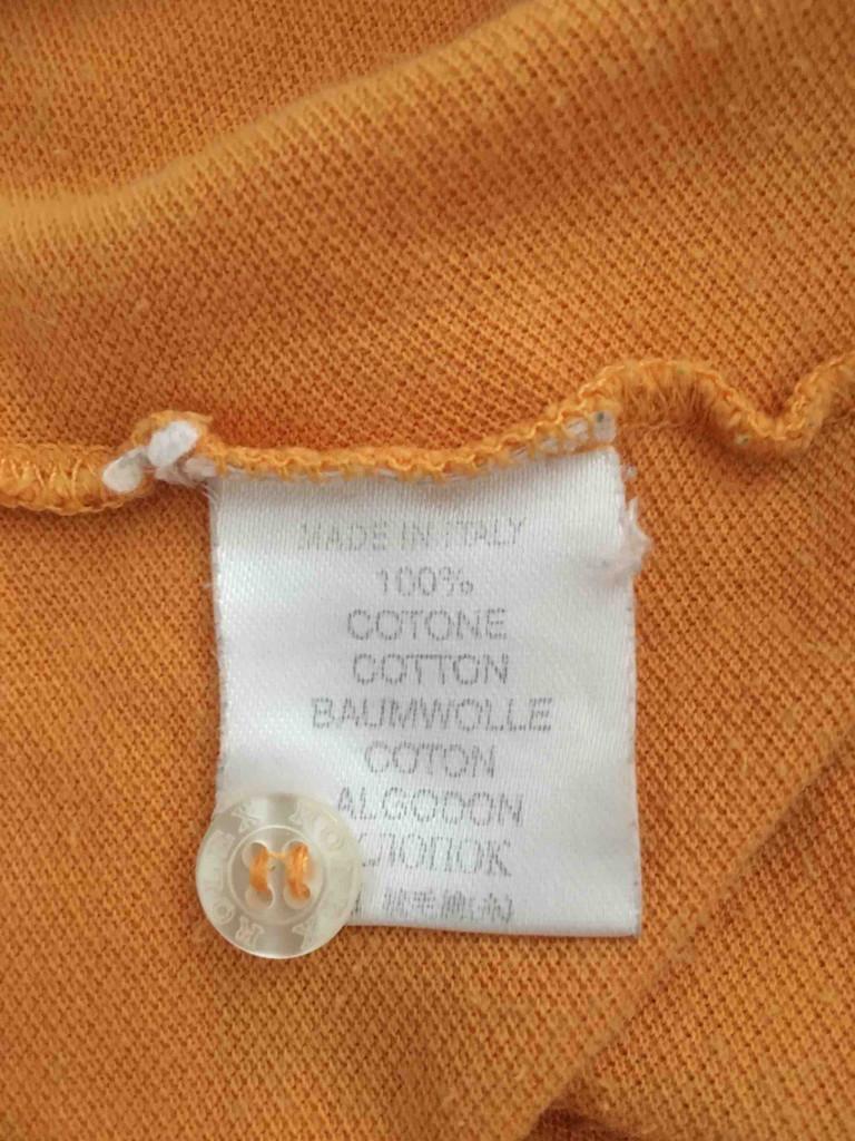 Kleidungs-Etikett Baumwolle