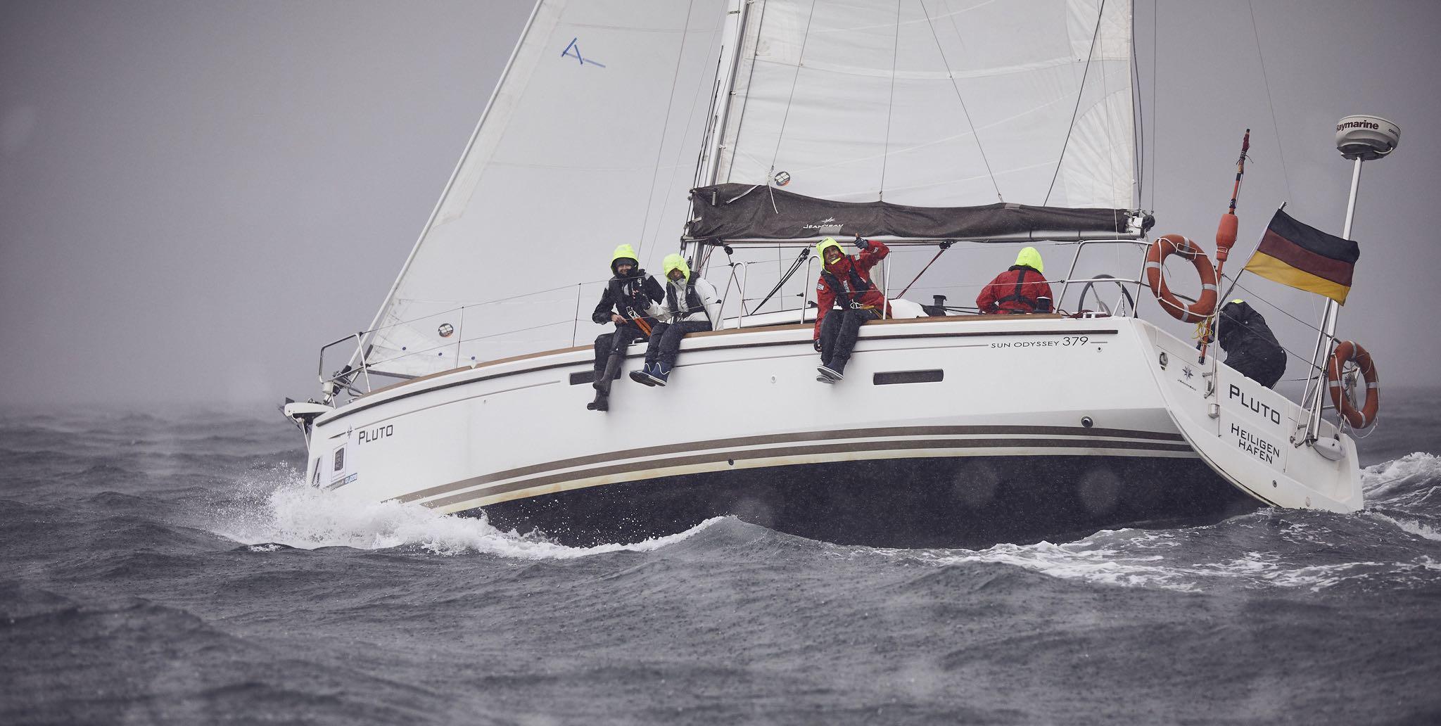 Seekrankheit beim Segeln