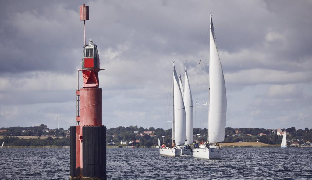 Segelschiffe auf der Flensburger Förde